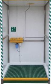 Welfare Habitat: Hot water shower unit